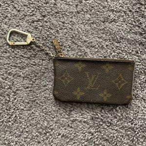 Authentic Louis Vuitton Monogram Pochette Cles